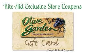longhorn gift cards rite aid coupons olive garden gift card and more living rich