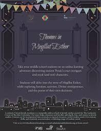 megillat esther online lookstein academy themes in megillat esther online