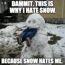 Hate Snow Meme - 34 memes for people who hate winter