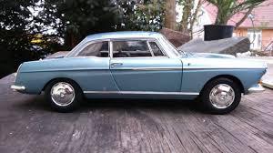 classic peugeot coupe peugeot 404 coupé 1 18 norev youtube