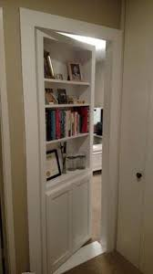 Diy Hidden Bookcase Door An In Swing Secret Door This One Leads Into A U0027s Playroom