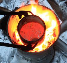 Backyard Blacksmithing How To Make An Easy Blacksmith U0027s Coal Forge Blacksmithing