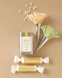 tea wedding favors favor packaging clip and templates martha stewart weddings