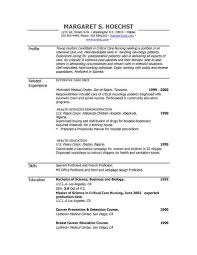 Nanny Resume Templates Free Free Resume Templates Samples Free Resume Templates Sample