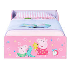 Peppa Pig Bed Set by Worlds Apart Peppa Pig My First Readybed Kiddicare Com