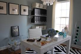 blue grey paint color contemporary den library office