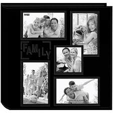 Pioneer 200 Pocket Fabric Frame Cover Photo Album Embossed 2 Up Photo Album 4