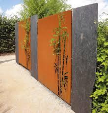 Gartengestaltung Mit Steinen Und Grsern Modern Moderner Sichtschutz Im Garten News Informationen Und