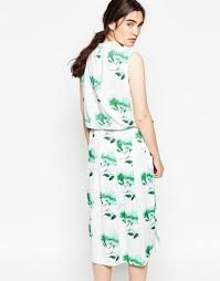 minimum freig maxi shirt dress flash green women casual minimum