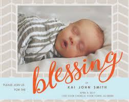 blessing baby baby blessing invitation etsy