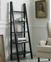 black ladder bookshelves making ladder bookshelves