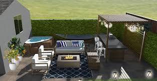 Hamptons Style Outdoor Furniture by Contemporary Hamptons Backyard Patio Design Black Cat Interiors