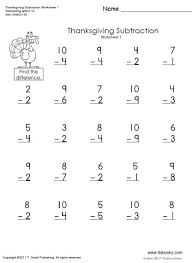 thanksgiving math worksheets first grade free worksheets library