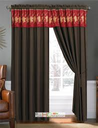 embroidered floral sheer curtains