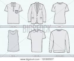 mens clothing templates stock vector u0026 stock photos bigstock