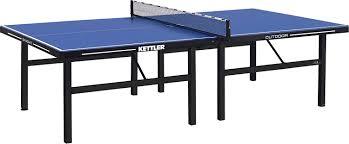kettler heavy duty weatherproof indoor outdoor table tennis table cover amazon com kettler tournament 11 outdoor table tennis table blue