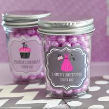 quinceanera favors personalized quinceanera favors mini jars