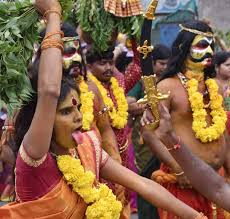 is thanksgiving a religious day as telangana celebrates the bonalu festival here are colourful