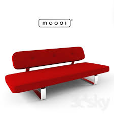 3d models sofa power nap sofa by moooi