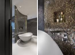 Clear Bathtub Dazzling Contemporary Bathroom Inside Rotterdam Villa Finished