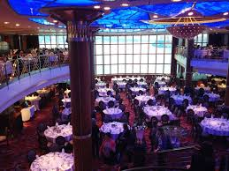 celebrity millennium the mediterranean dining room alaska cruise