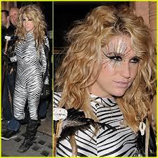 Kesha Halloween Costume Ideas Ke Ha Is A Zebra Makeup Hairdesingners Pinterest Tiger