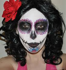 Pink Halloween Makeup by Halloween Makeup Tutorial Day Of The Dead Sugar Skull Glitter