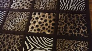 Cheetah Print Area Rugs Large Area Rug With Leopard Zebra Cheetah Print 5ft 2in X 7ft 2 In