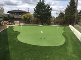 Backyard Putting Green Installation by Idaho Putting Green Artificial Grass Installation Boise Progreen