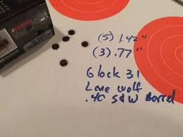 Barnes Tac Xpd 45 Acp Ammo Test Barnes Tac Xpd 40 S U0026w 140 Grain Gunsamerica Digest