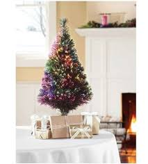 creative design small pre lit trees decorating table top