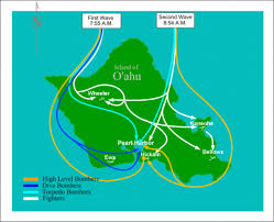 Pearl Harbor Map Attack On Pearl Harbor By Blake Peffer By Blake Peffer