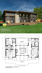 Contemporary Plan by 24 Best Contemporary Home Plans Images On Pinterest Architecture