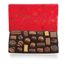 wrapped christmas boxes gift wrapped see s candies