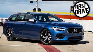 r design volvo the 2017 volvo v90 r design lives up to its looks