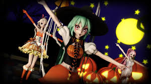 anime happy halloween mmd happy halloween youtube