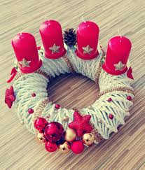 free images winter heart pink homemade christmas wreath