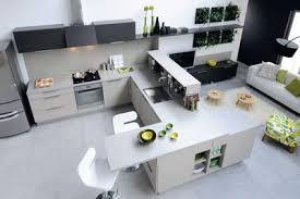 la cuisine familiale modele de cuisine ouverte sur salle a manger des cuisines