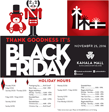 2016 kahala mall black friday
