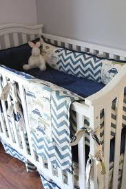Custom Boy Crib Bedding Vintage Cars Boy Crib Sets Boy Crib Bedding Cars Bedding For