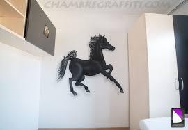 deco chambre cheval cheval chambre graffiti