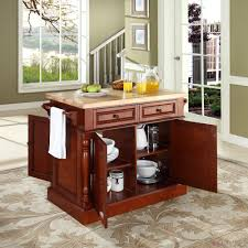 White Kitchen Storage Cabinet Butcher Block Kitchen Island With Seating Oak Wood Kitchen Storage