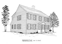 saltbox architecture saltbox house plan perspective house pinterest saltbox
