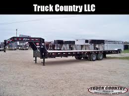 2017 pj trailers t9 tilt 24 u0027 gooseneck flatbed trailer trailer
