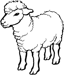 sheep coloring page 02 projects to try pinterest