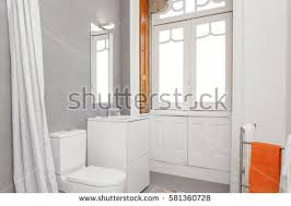 bright bathroom interior with clean clean fresh bathroom light stock photo 559170985