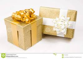 beautiful gifts beautiful golden gifts stock photo image of color merry 11549932