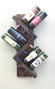 make a home decor statement with this unique wine rack that our