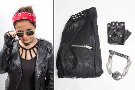 Womens Biker Halloween Costume Minute Halloween Costume Ideas Reader U0027s Digest