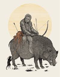 clash of clans hog rider hog rider